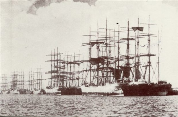 Tall Ships of Stockton 1909