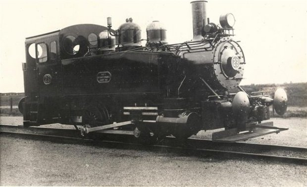 BHP Steam Loco Number 23.