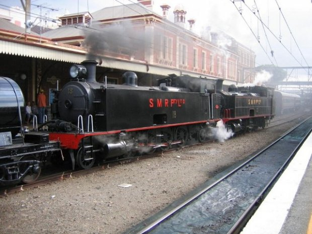 No.10 Loco recently restored by the Hunter Valley Training Company in conjunction with the Hunter Valley Workshops and Museum, Steam Loco No.10 was the first 10 class locomotive manufactured and the first of a line built to work the Hunter Valley Coal Fi
