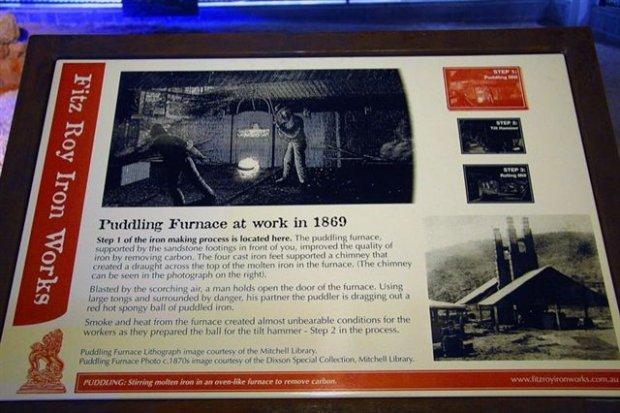 Puddling Furnace Panel