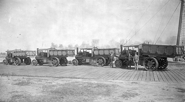 Steam Trucks