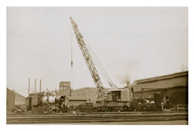 Steam Crane No 2. August 1939,