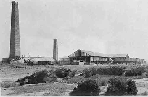 The English and Australian copper Company Smelter at Broadmeadow, on the site later occupied by Goninans.