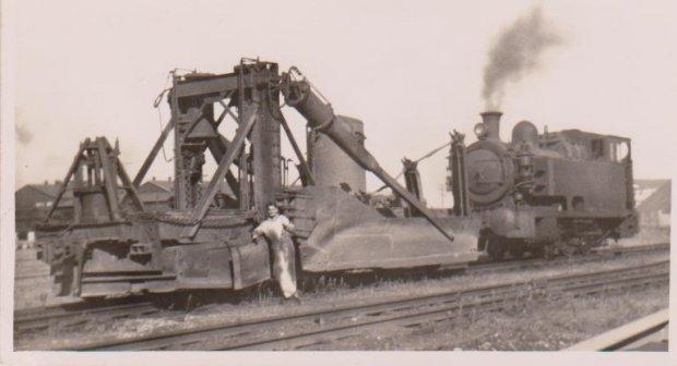 Jordon Spredder under steam