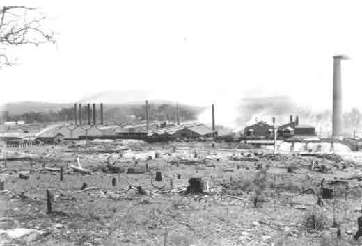 Sulphide works in 1903