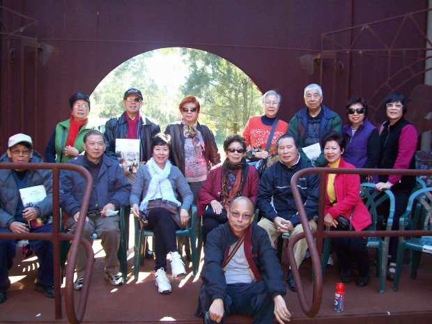 Sydney Chinese community visit Muster Point.