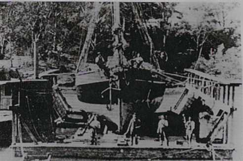 Newcastle's first Floating Dock at Stockton.