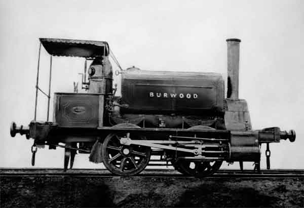 First Locomotive to Burwood