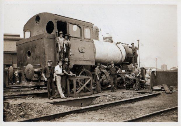 Number 5 under repair. 1939.    H.K Porter No 5762 -15 Scrapped 1961