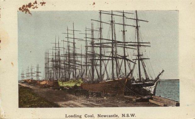 Loading Coal in Newcastle