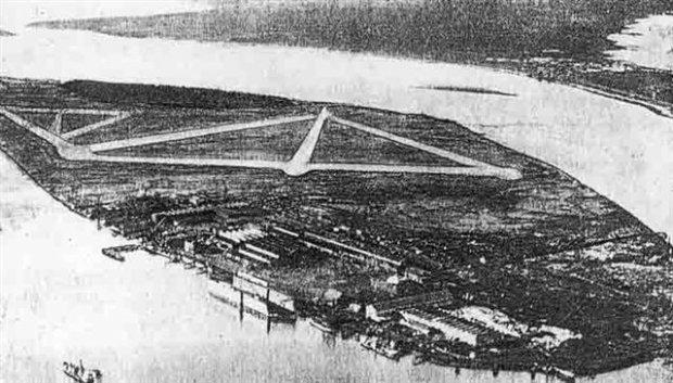 Walsh Island Dockyard - Aerial View