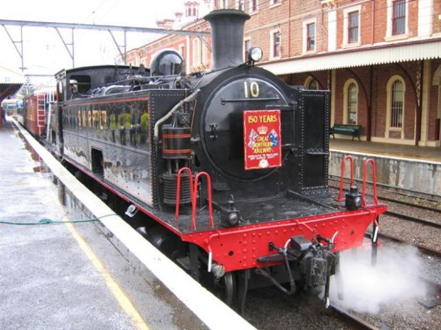 The proud Steam Loco, SMR No 10