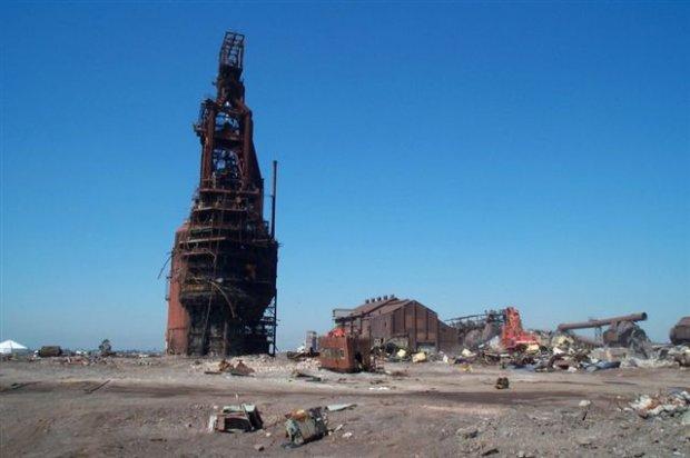 Newcastle No3 BF Demolition