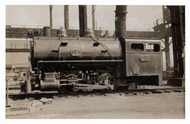 Loco 15  Taken 1939..... Scrapped 1966 Porter No 6413-19 Gauge. 3'.00