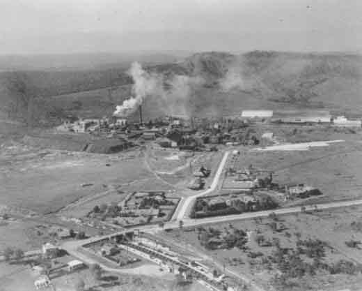 Sulphide aerial photo - 1939