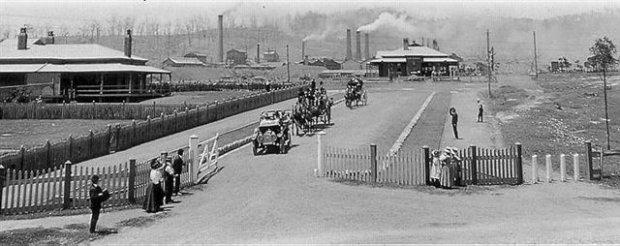 Early Main Entrance - 1910