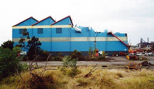Wagon Shop Demolition
