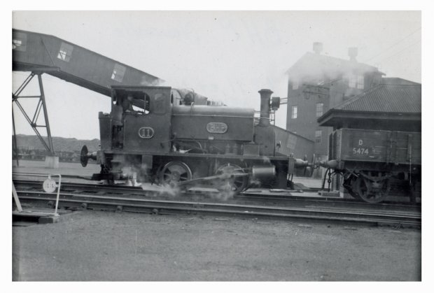 Loco 11 Purchased by BHP in1917 ExNSWGR no 1215.     Manning Waddle No 1898-16. Sold to Commonwealth Steel 1954