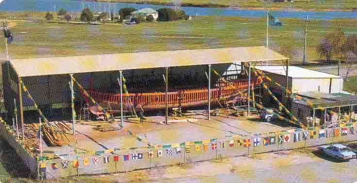 At Raymond Terrace during construction