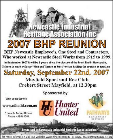 BHP Reunion 2007