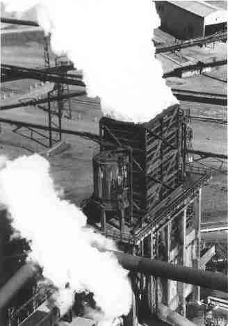 Steam from the Coke Ovens