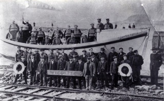 Adolphe Crew and The Rescue Boat Crew