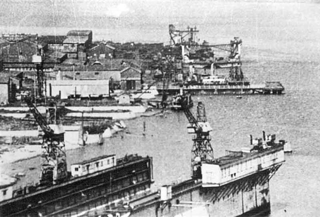 Walsh Island Dockyards 1930's