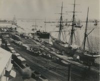 Wharfs on Newcastle Side