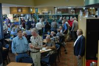 A section of the crowd at the 2005 reunion.