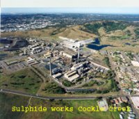 Sulphide Works Cockle Creek