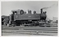 Loco 20 at Wharf with Coal Wagons. 4.3.57  Scrapped 1960