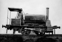 First locomotive built in Newcastle. JS Rodgers Engineers built for EC Merewether for 1350 pounds. delivered June 1878.
