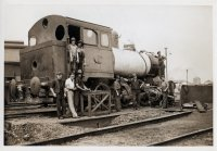 Number 5 under repair. 1939.