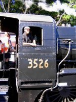Loco 3526, The Driver was Barry Angel.