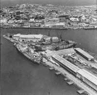 In 1942 the State Dockyard was opened at the Dyke End. it closed in 1987.