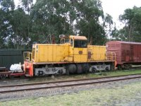 BHP Loco 54 at Richmond Vale NSW