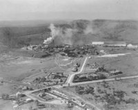 Aerial photo of The Sulphide - 1939